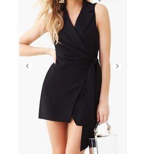 Sleeveless wrap mini dress - new with tags